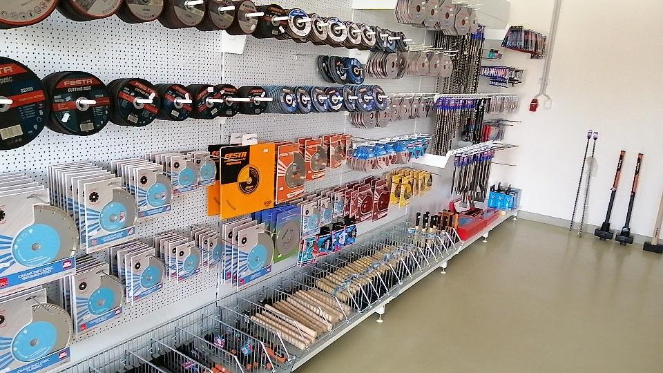 Prodejna NARETA nabízí, Diamantové kotouče, vrtáky, vrtáky SDS+, vrtáky SDS max, vrtáky, řezné kotouče.