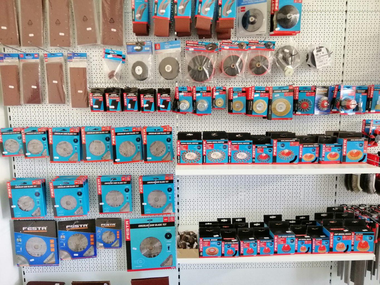 Prodejna NARETA nabízí, Kartáče, brusné papíry, brusné plátna, pilové kotouče