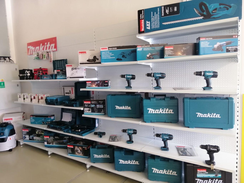 Prodejna NARETA nabízí, Vrtačky, brusky, Aku šroubováky, pily, lasery, průmyslové vysavače, Sekací kladiva